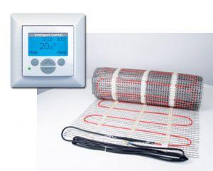 elektro fl chenheizung inkl digitales uhren thermostat. Black Bedroom Furniture Sets. Home Design Ideas