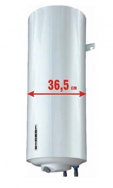50 Liter Slim Elektro-Warmwasser-Boiler - Platzsparend - 36 cm ...