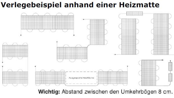 d nnbett warmwasser heizsystem set fussbodenheizung 2 5 10 m neu ebay. Black Bedroom Furniture Sets. Home Design Ideas