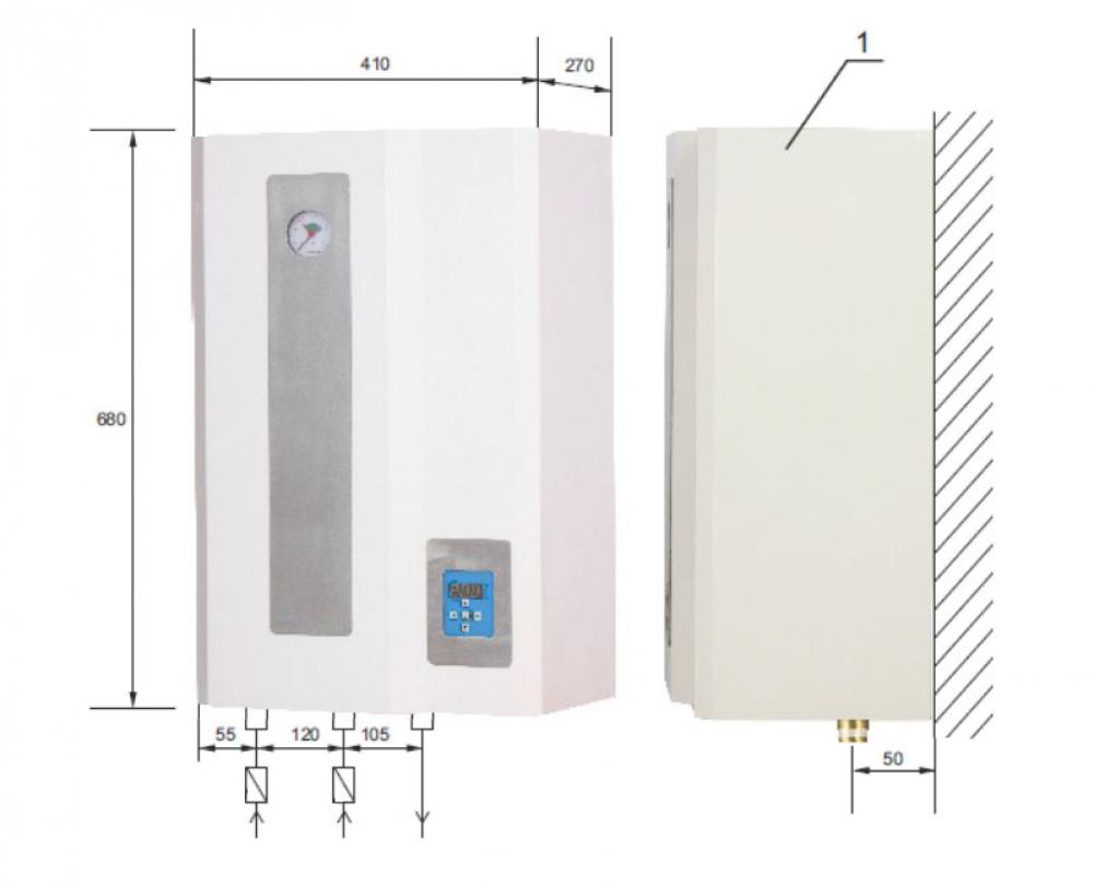 21 kW Elektro-Zentralheizung inkl. Warmwasser, AsD - Heizung-Solar24